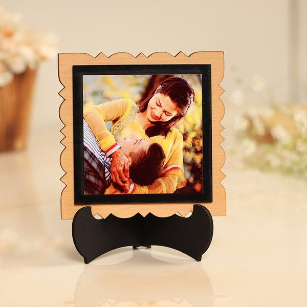 FlowerAura Romance Between The Frame First Anniversary Gift For Wife