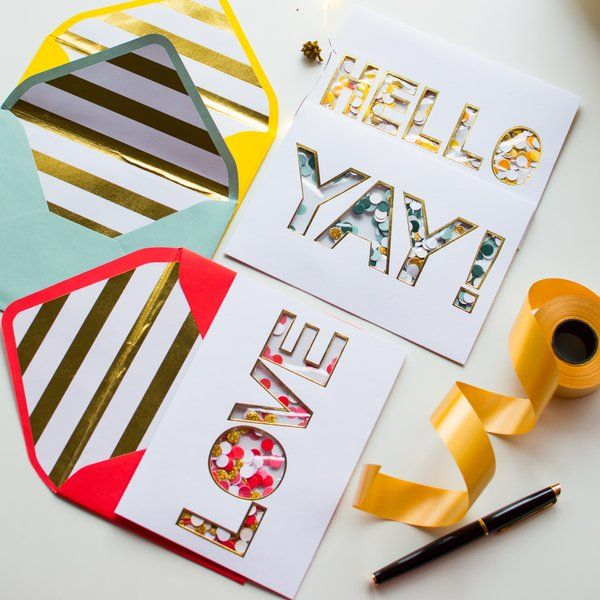 Dottedi Set of 3 Cards - Typography Birthday Gift Ideas For Female Best Friend
