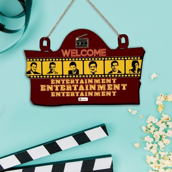 Indigifts Signboard for Entertainment Lovers Gifts For Online Friends
