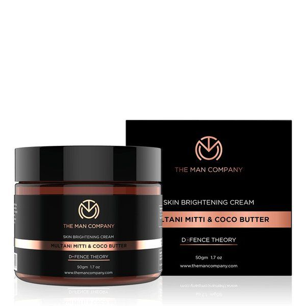 The Man Company Skin Brightening Cream | Multani Mitti & Coco Butter Useful Gifts For Brother