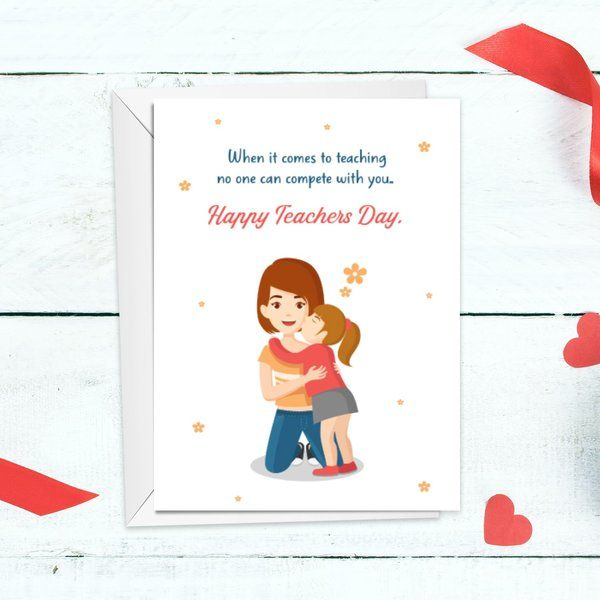 Privy Express Teachers Day Card for Mom Thoughtful Birthday Gifts For Mom