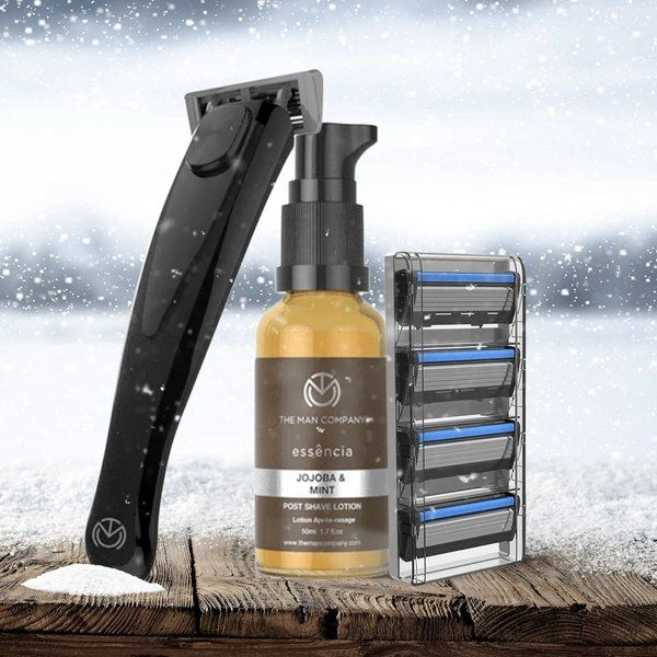 The Man Company Winter Perfect Shaving Kit Useful Gifts For Husband