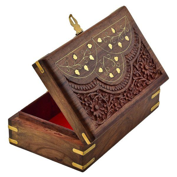 Wooden Designer Jewelry Gift Box for Engagement Gift Ideas for Friends