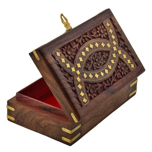 FineCraftIndia Wooden Jewellery Box For Women Unique Wedding Gifts For Best Friend