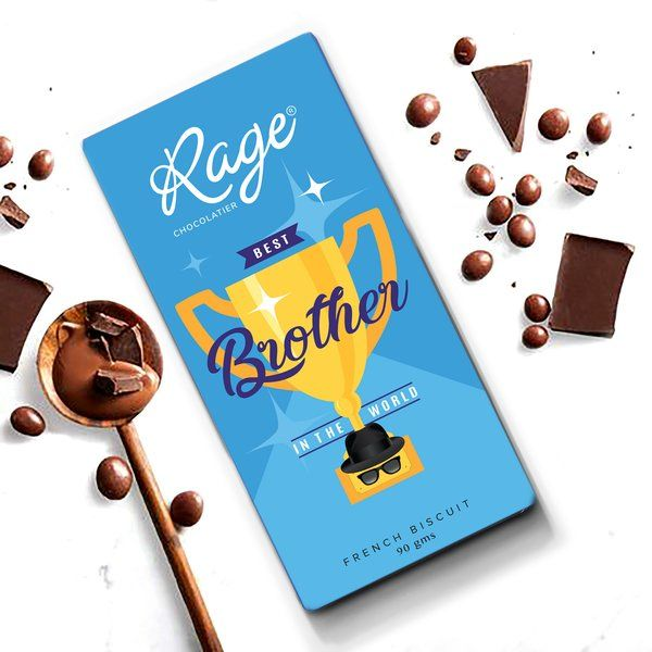 Rage Chocolatier World's Best Brother Useful Gifts For Brother
