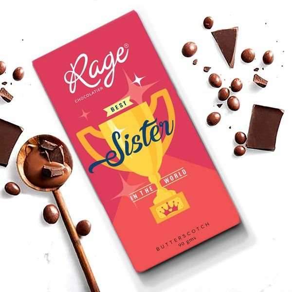 Rage Chocolatier Worlds Best Sister Gift For Cousin Sister