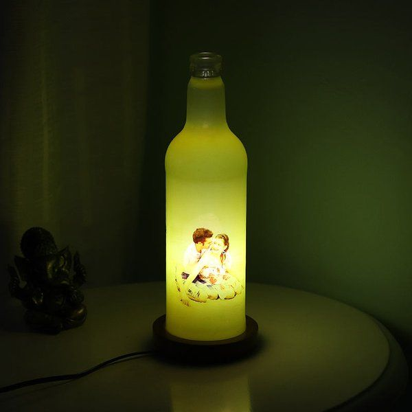 FlowerAura Yellow Personalized Lamp Romantic Valentines Gifts For Husband