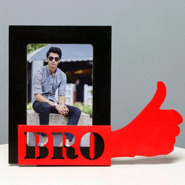FlowerAura You Rock Bro Frame 25th Birthday Gift For Brother
