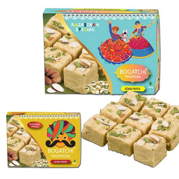 Traditional Cultural Soan Papdi Holi Gifts