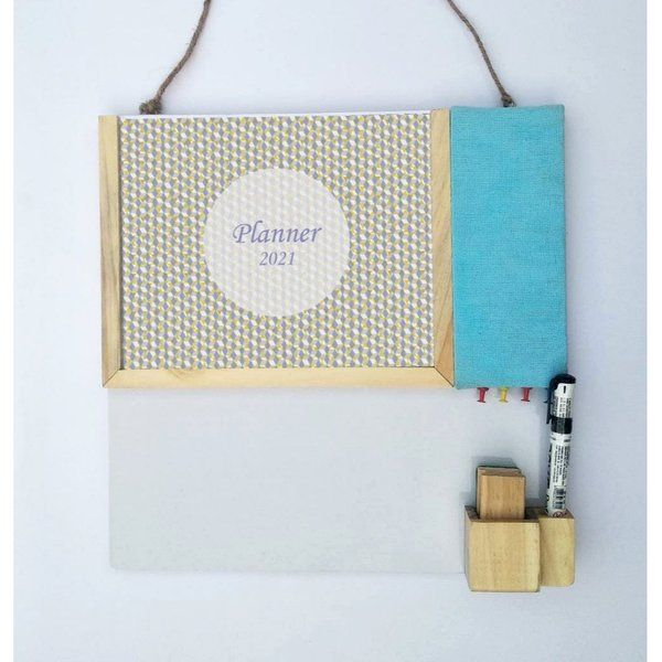 Ivei IVEI Planner With Pin Board And Whiteboard - Pink  business Gift Ideas