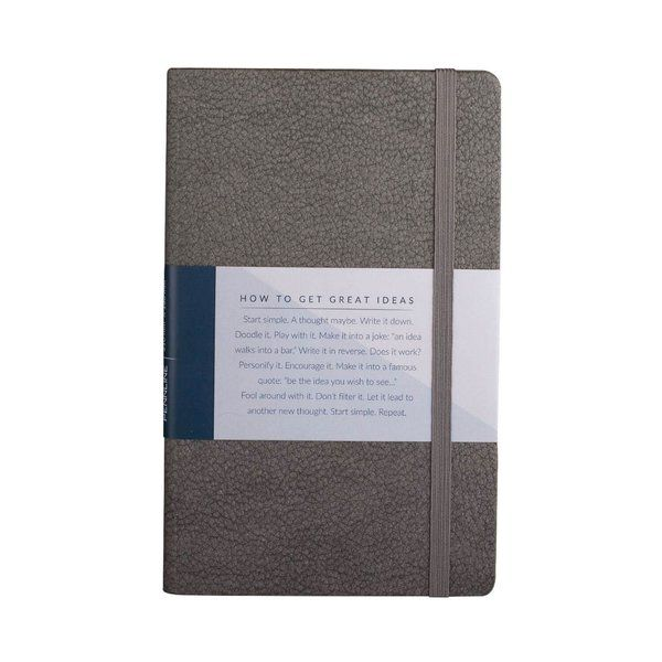 Pennline Notebook A5 Hard Bound - Grey Unique Corporate Gifts