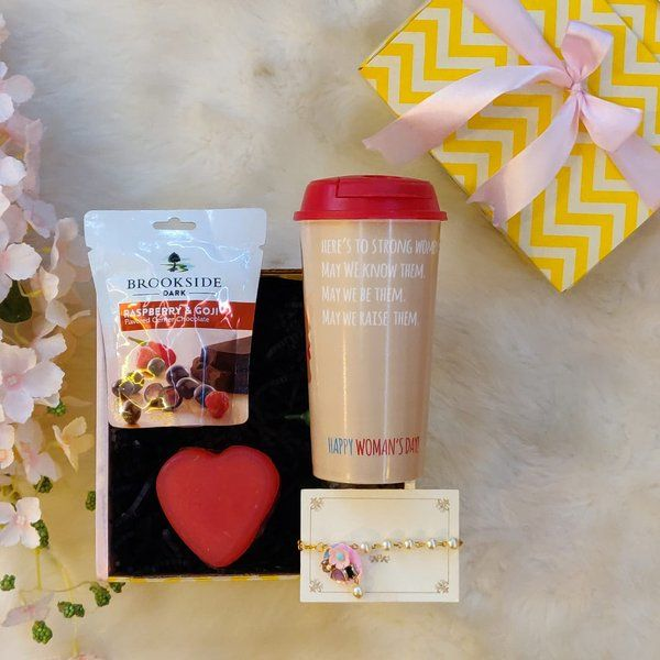 Stallion Barware Cheers to Strong Women! Gift Box Gifts For Big Sister