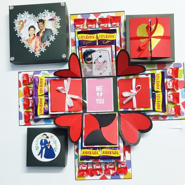 Privy Express Chocolate Explosion Box Explosion Gift Box