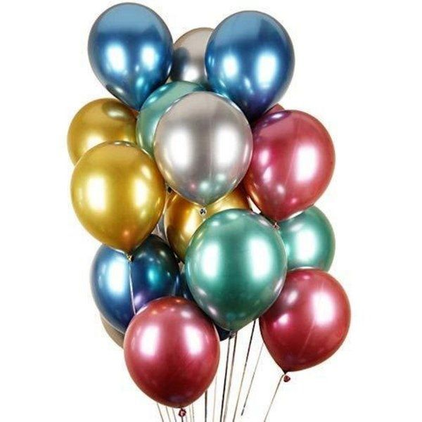 CherishX Chrome Color Balloons for Party Decorations Anniversary Decoration Ideas