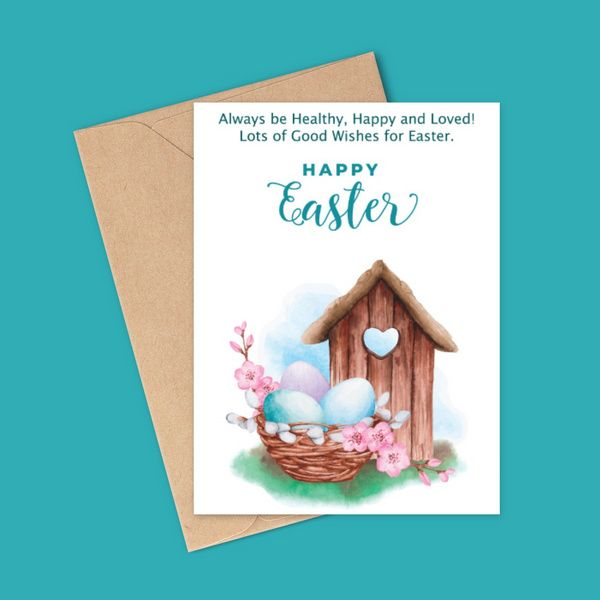 Privy Express Easter Love and Eggs! Friends Greeting Cards