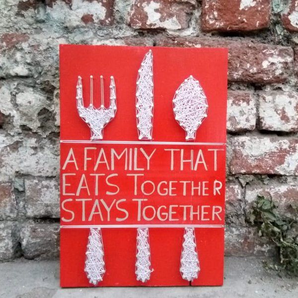 PiecesForBeautifulPlaces Family That Eats Together 40th Birthday Gift Ideas Men