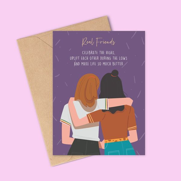 Privy Express Happy Friendship Day Creative Greeting Card Friends Greeting Cards