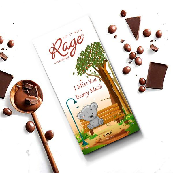 Rage Chocolatier I Miss You Beary Much Teachers Day Gift Ideas