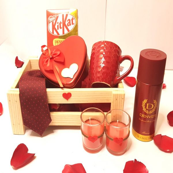 Hoods & Bonds Love A Little More - Valentine Hamper for Him Gift Ideas For Brother In Law