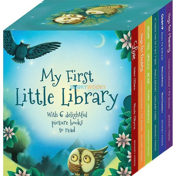 BookyWooky My First Little Library Pack of 6 Titles Gifts For Twin Babies
