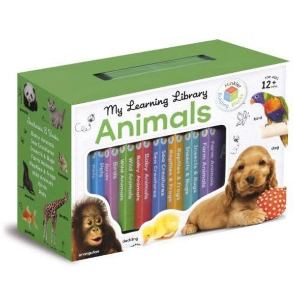 BookyWooky My Learning Library Animals Gifts For Twin Babies