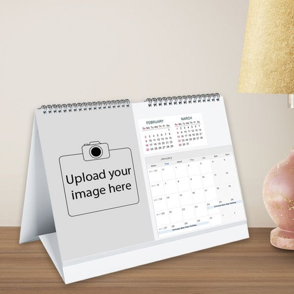 Privy Express Personalised Photo Desk Landscape Calendar - Create Your Own Personalized Calendar