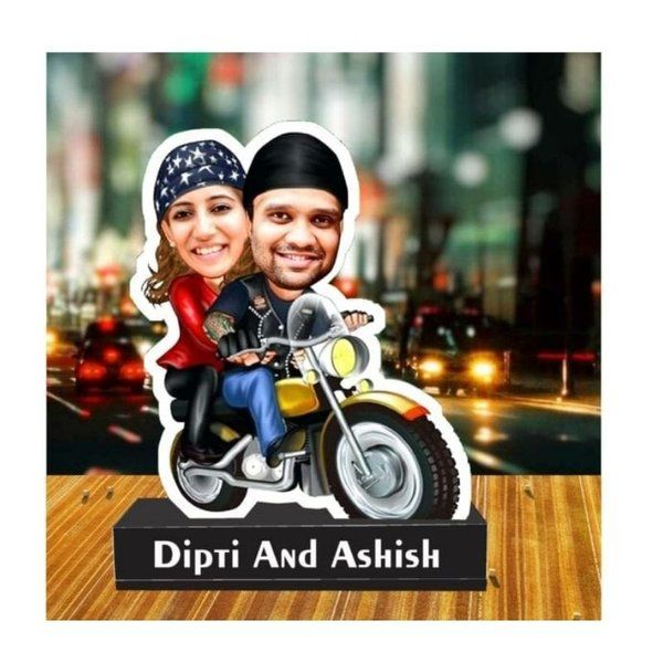 Zoci Voci Personalized Caricature Standee Marriage Gifts Under 1000