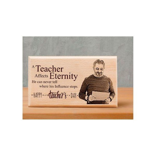 Incredible Gifts Personalized Photo Plaque Gift for Teacher's Day Teachers Day Gift Ideas