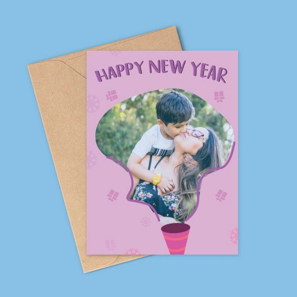 Privy Express Photo Personalised Birthday Cap Theme New Year Wishes Greeting Card Birthday Cards For Boys