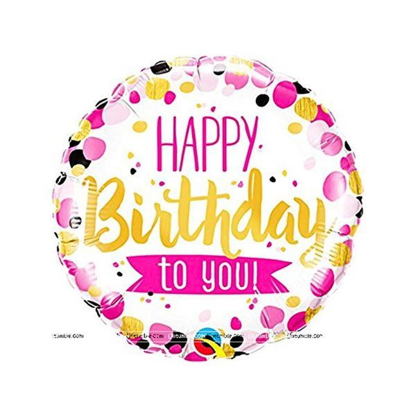 Untumble Pink Happy Birthday To You Foil Balloons Sweet 16 Gift Ideas