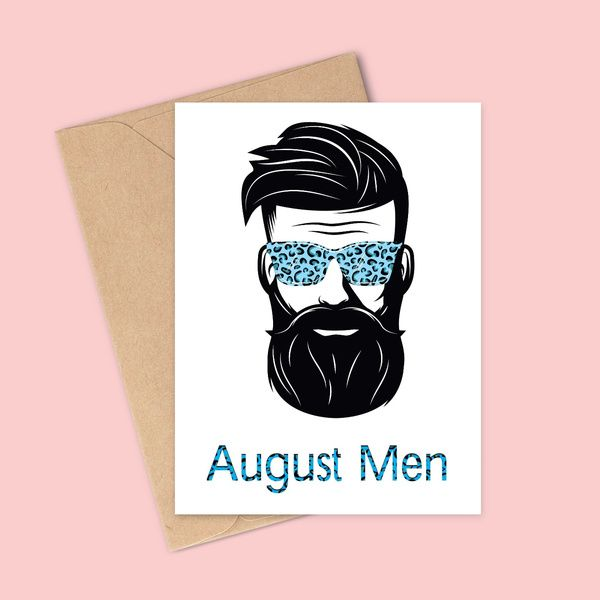 Privy Express Quirky August Men Birthday Greeting Card Birthday Cards For Boys
