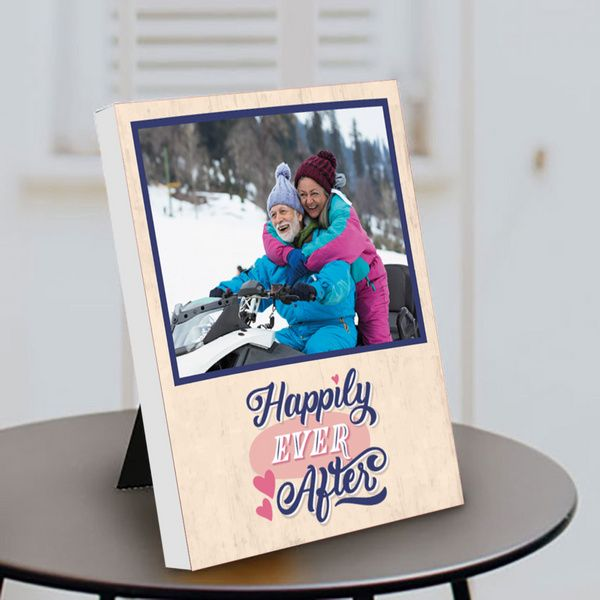 Privy Express Special Happily Ever After Couple Photo Personalized Anniversary Table Photo Frame Anniversary Gift Ideas For Mom And Dad