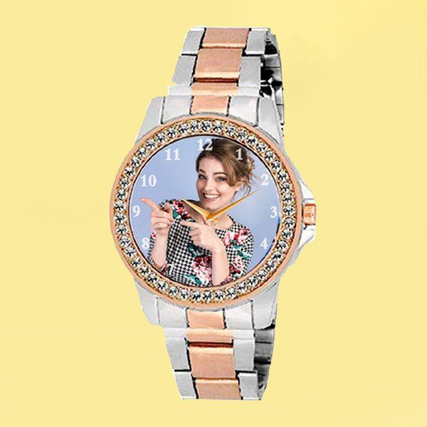 FlowerAura Special Lady Personalized Watch Gifts For 19 Year Old Girl