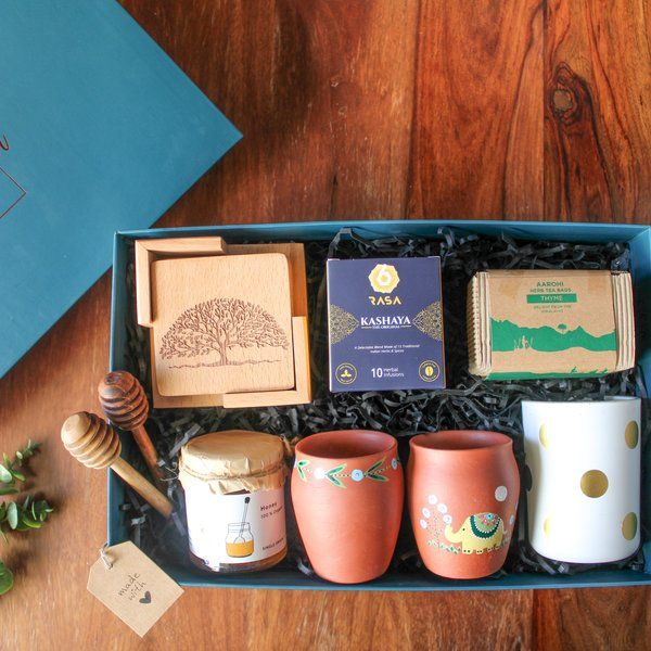 Teal Copper Box The Tea-licious Tea Box Gifts For 40 Year Old Woman