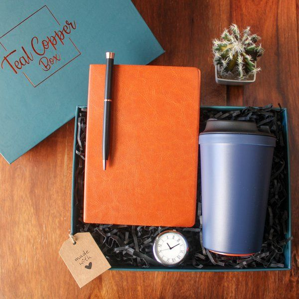 Teal Copper Box The Writer's Box Big Brother Gift Ideas