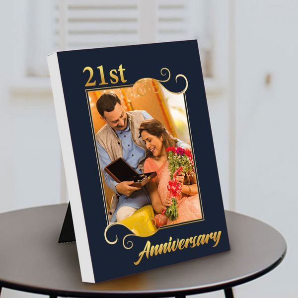 Privy Express Years of Togetherness Couple Photo Personalized Anniversary Table Photo Frame Anniversary Gift Ideas For Mom And Dad
