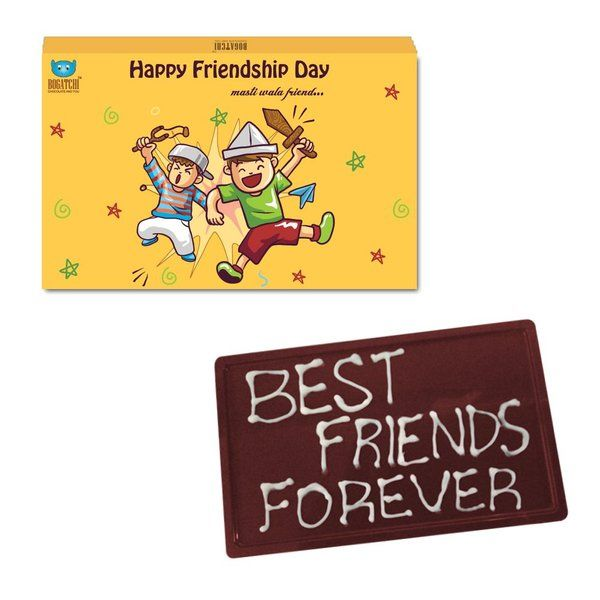 Bogatchi Best Friends Forever Friendship Day Chocolate Bar Gift  Small Gift Ideas
