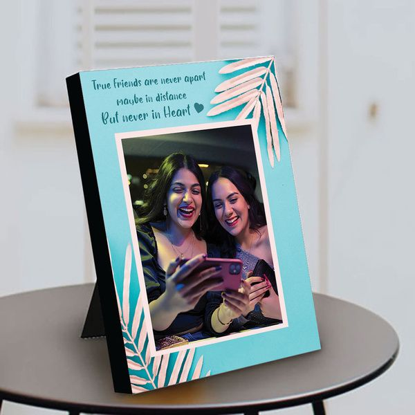 Privy Express Best Wishes On Friendship Day To A Close Friend Personalized Photo Table Frame Friendship Day Card Ideas
