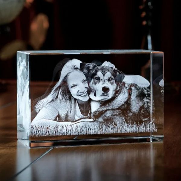 Privy Express Childhood Memories of Home Personalized Cube Laser Engraved 3D Crystal  18th Birthday Gifts For Girls