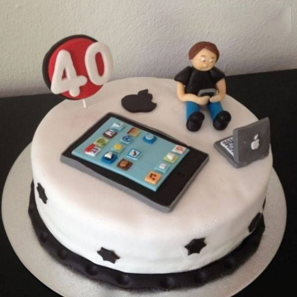 CakeZone Geek Cake 18th Birthday Gifts For Boys