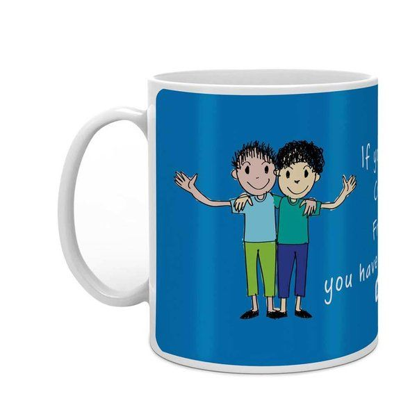 Indigifts If You have a Crazy Friend You have Everything Light Blue Coffee Mug Small Gift Ideas