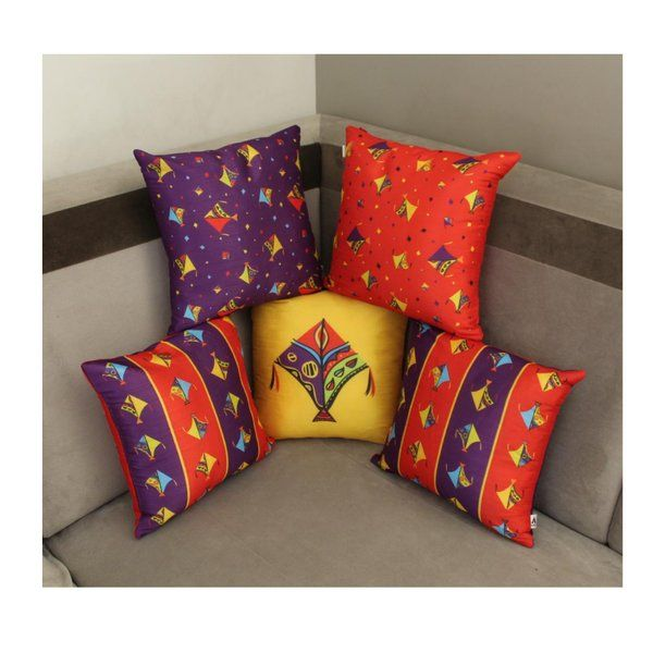 Axta Designs Kite Design Cushion Covers Set Gifts For Grandmother