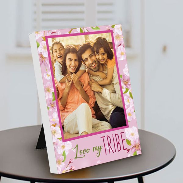 Privy Express Love My Tribe Photo Customized Family Table Photo Frame   Parents Day Gift Gift Ideas For Parents