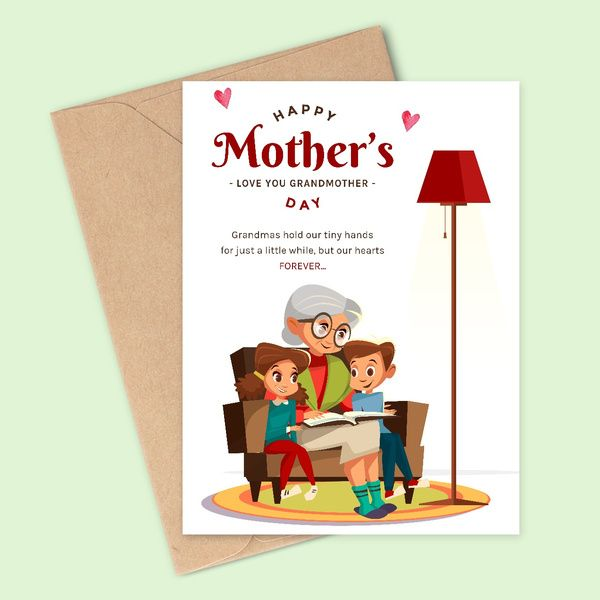 Privy Express Love You Grandmother Greeting Card Gifts For Grandmother