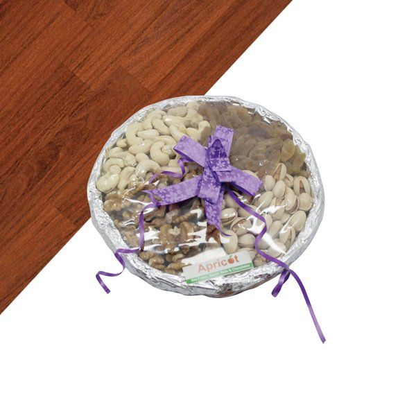 Apricot Mini Dry Fruits Gift Basket Gifts For Grandmother