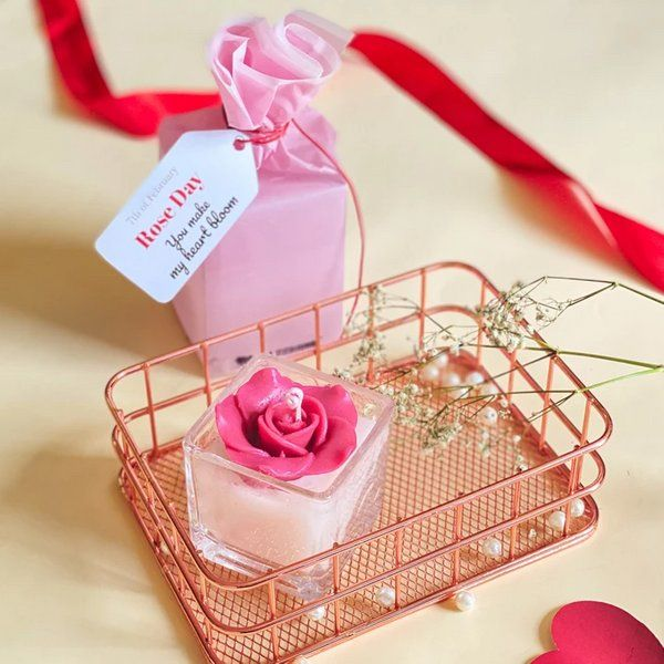Tisora Designs Rose Candle Marriage Gifts For Boys