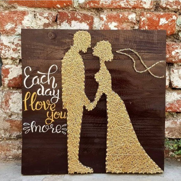 PiecesForBeautifulPlaces Standing Couple Marriage Gifts For Boys