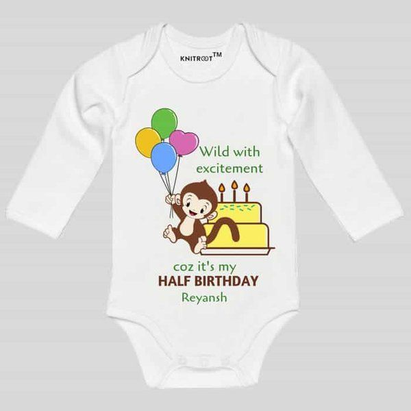 Knitroot Wild With Excitement Theme Baby Wear Onesie Baby Rompers