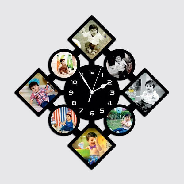 Waah Craft Wooden Personalised Wall Clock 13th Birthday Gifts
